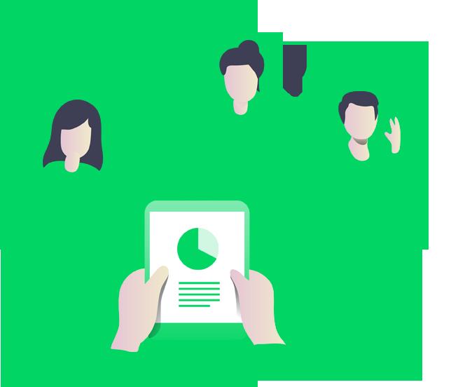 مشاركة بيانات المشاريع مع العملاء